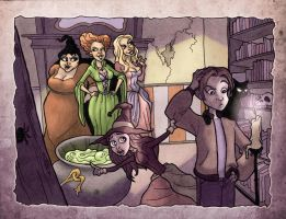 Hocus Pocus by MrDinks