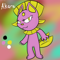 Akara The Weavile reference by thisisspartacat1230