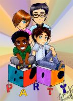 Chibi Bloc Party by tropical-angel