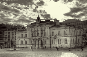 Tampere City Hall by Karelen