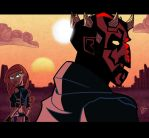 ART TRADE: Maul and Morn by JoeHoganArt
