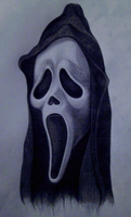 Scream - Ghostface Mask by Kevercaser