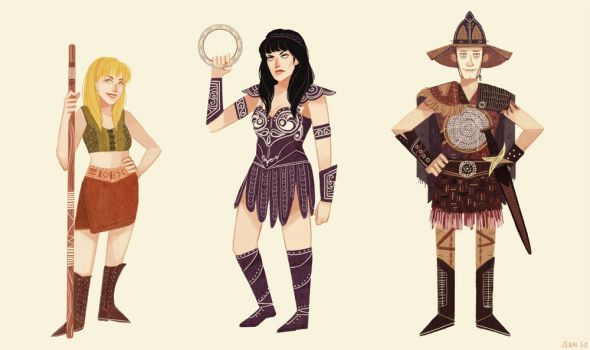 Xena by spicyroll