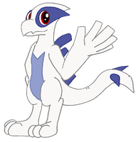 My Little Lugia by ZarelTheWindDragon