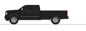 2014 GMC Sierra 2500HD extended cab long bed SL by airsoftfarmer
