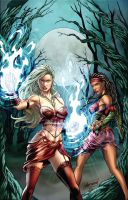 My 1st cover for Zenescope by mrfussion