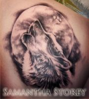 Howling Tattoo by illogan