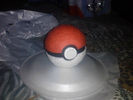 Papercraft Poke Ball by Jessguy240