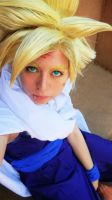 Battle Damaged Gohan Cosplay by morisa9