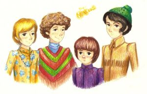 the Monkees by FG-Twins