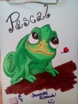 Pascal from Tangled by PurplePastelChalk