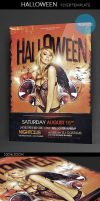 Halloween PSD Flyer Template by ImperialFlyers
