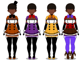 ~~{Playsuits for Freddy's}~~ by xXInfamous-TaylorXx