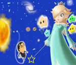RIP Mr. Iwata: Welcome to the Universe by XxAngiexXRPI