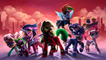 Power Ponies by Audrarius