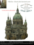 Berliner Dom side view by YBsilon-Stock