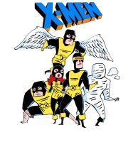 X-MEN by Iceland-Ink