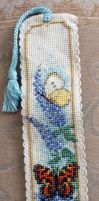 Butterfly Bookmark by Olcanna