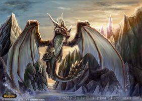 World of Warcraft Vaelastrasz by BlackMysticA