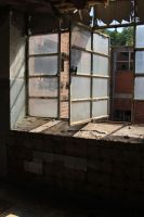 Old factory Stock 199 by Malleni-Stock
