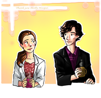 Thank you Molly Hooper by incaseyouart