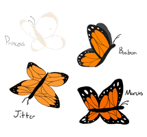 The Butterflies by XDTheServine