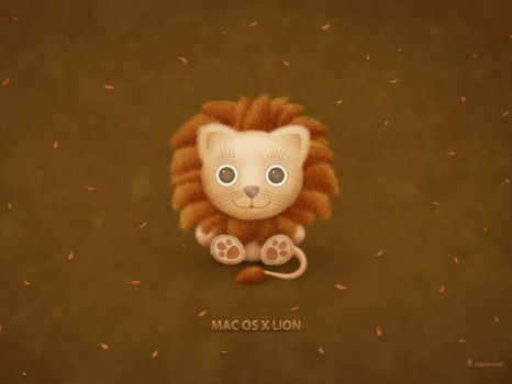 Mac OS X Lion Wallpaper by vladstudio