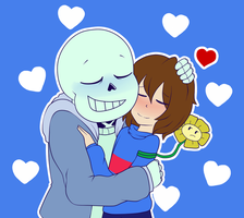 AT: -::SaNs X fRiSk::- by gloriapainthtf