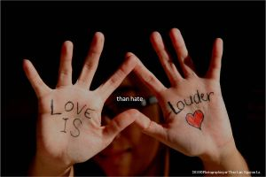 Love Is Louder Movement I by AnarchisticAngel