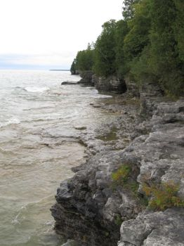 Cave Point Park, Door County, Wisconsin by redetzke