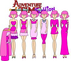 Adventure time fashion: Princess bubblegum by Willemijn1991