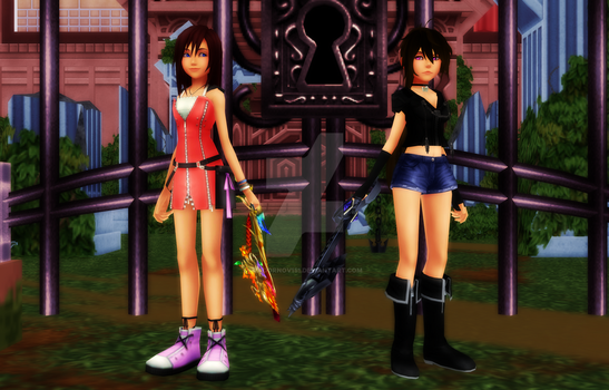 Shy x Kairi - Why is she staring at me... by Zadornov151