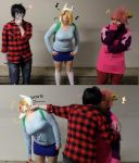 Cosplay- Move Away Fionna by Mewa--Chu