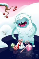 Merry Christmas Yeti by grelin-machin
