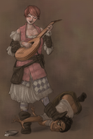 Minstrel by kyuubifred