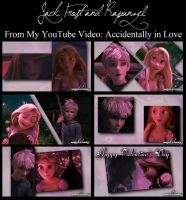 Jack Frost and Rapunzel - Accidentally in Love by OohFire