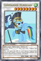 Commander Hurricane (MLP): Yu-Gi-Oh! Card by PopPixieRex