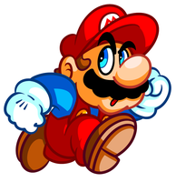 Classic Mario by JamesmanTheRegenold