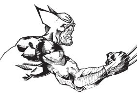 Wolverine Ink'd by Z199Y360