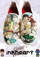 street fighter custom kicks by felixartistixcouk