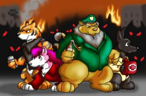 Left Fur Dead by Big-Wolf