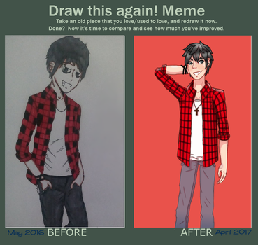 Draw This Again Meme | 2017 by CEE-KAIart