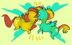 these are not lesbian ponies by msmoots