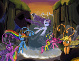 It's All Breezies (update: Timlapse uploaded) by Xenstroke