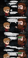 HOBBIT: Gloin Somewhere by Kumama