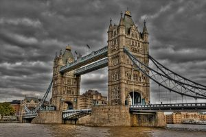 londra tower bridge by roa006