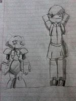 Walking home from school, Cassie and SkullCandy by TFFangirl