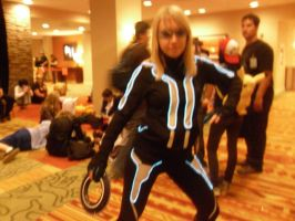Tron cosplay by peppermix14