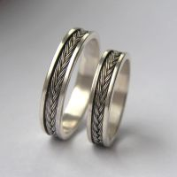 Fish Tail Rings by edhelien