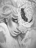 LADY GAGA by AngelasPortraits